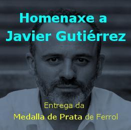 MEDALLA DE PRATA AO MERITO ARTISTICO A JAVIER GUTIERREZ