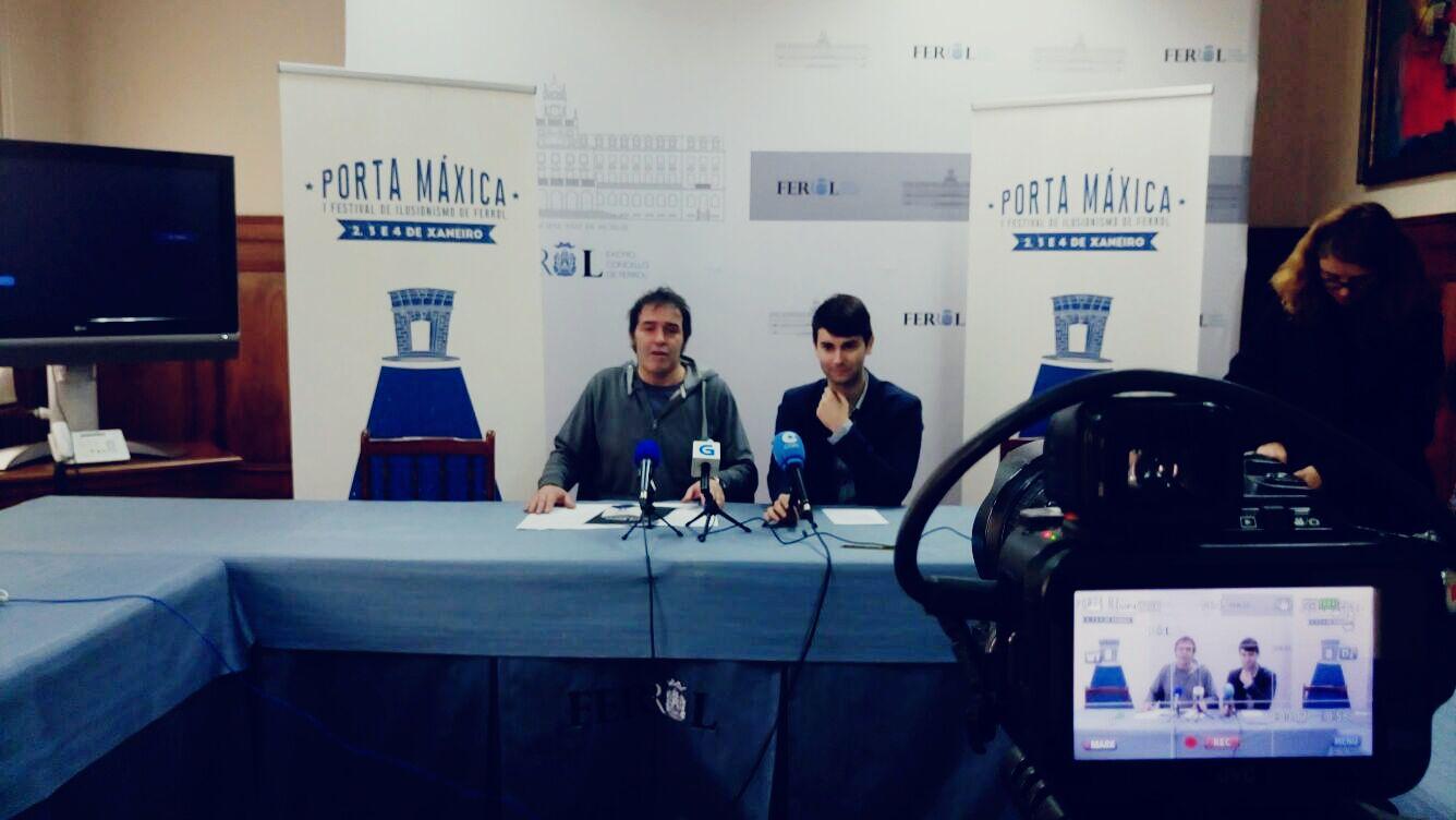 PORTA MÁXICA, O PRIMEIRO FESTIVAL DE MAXIA E ILUSIONISMO PARA O NADAL FERROLÁ
