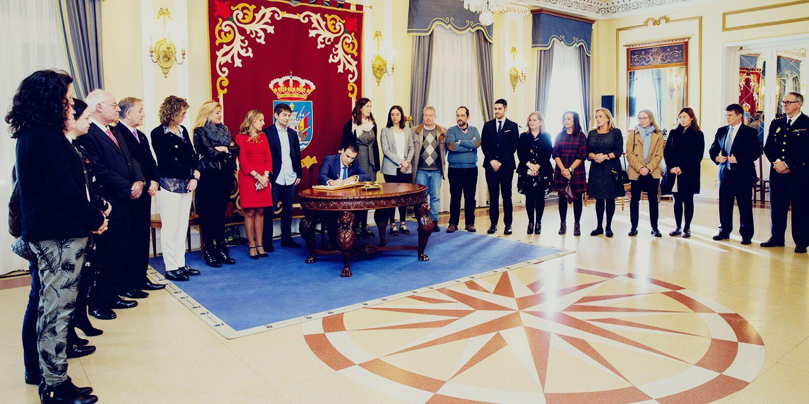 REPASO A HISTORIA NO MINISTERIO FISCAL NOS ACTOS DO XXXIX ANIVERSARIO DA CONSTITUCIÓN EN FERROL