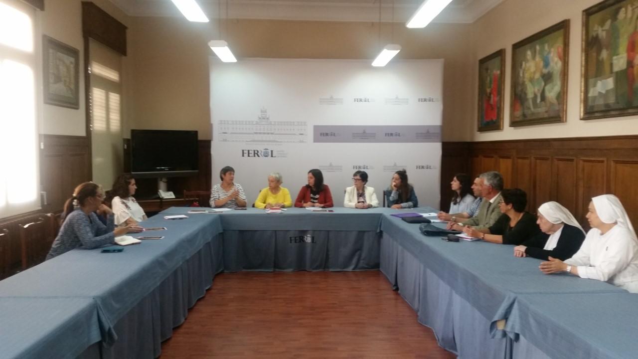 BENESTAR SOCIAL INCORPORA A UNIDADE DE SAÚDE MENTAL A MESA DE COORDINACIÓN DE PERSOAS SEN FOGAR