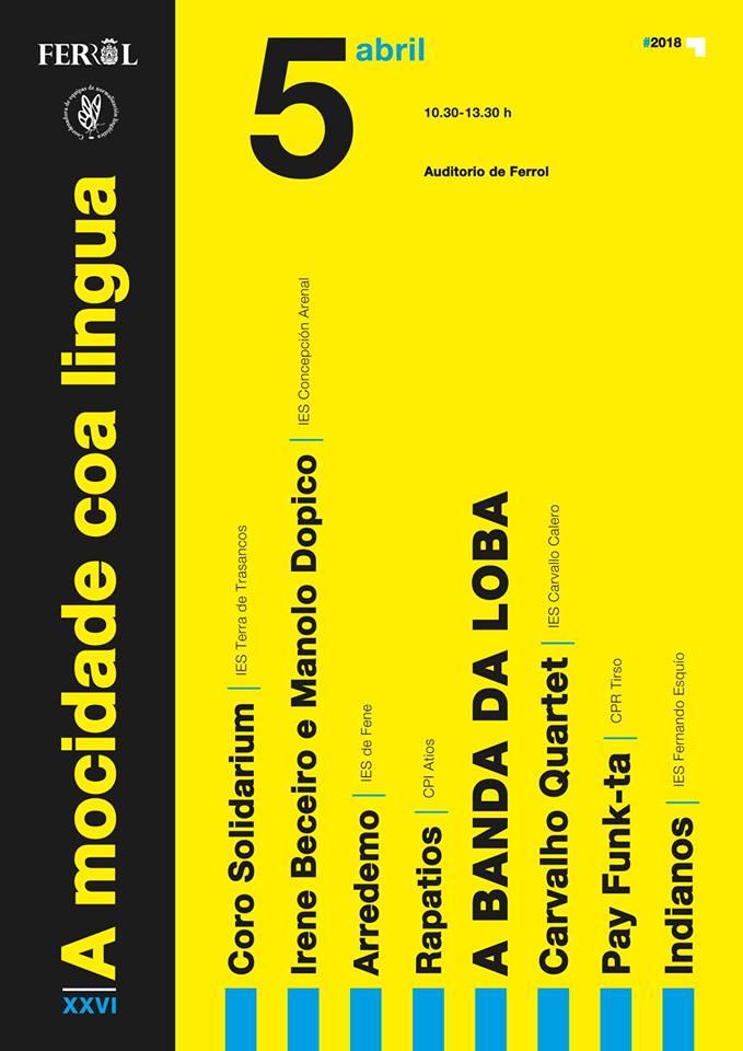 A MOCIDADE COA LÍNGUA, 26 ANOS DE FESTIVAL MUSICAL